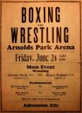 Wrestling Flyer 1932