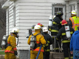 Wallingford Training Fire