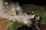 Dickinson Co Car Fire Sept 19, 2010