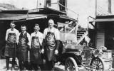 Louis Olson, Bud Fritz, Bill Mason, and Tom Olson