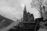 Harpers Ferry in Infrared and Black and White