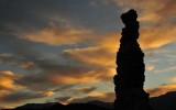 Silhouetted Tufa, Mono Lake