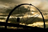 Irrigation Wheel, Near Logan, Utah