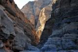 Exiting Titus Canyon