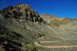 Approaching Titus Canyon