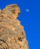 Moon, Column in Titus Canyon