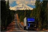 Mt. Shasta, Highway 89, California