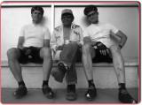 Pierre, Albert and Kansas Hanging Out at the Totsoh