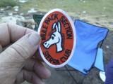 My Sierra Club Mule Pack patch.