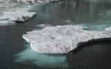 Iceberg in a high lake.