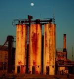 Moonrise over the Salt Works