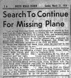 March 21, 1954 Article
