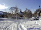 St Cuthberts Church In Winter
