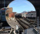 hm  Mirror in Subway Holding Yard