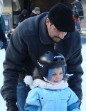1st ...  A Tot Learning to Skate