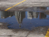 1st  ...Toronto in a Puddle