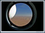Starboard view from helicopter - Northern Sudan Desert (1349)