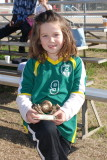 Paige and her first soccer exploits