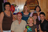 The Fason clan (Mary Kate, Tommy, Mary Hope, Naomi, Jessica, Robby Kate, and Troy