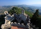 Vista della Cesta dalla Rocca / San Marino