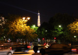 Eiffel Tower from Arc de Triomphe