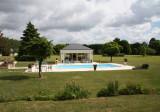 La Croix de la Voulte B&B Swimming Pool
