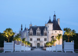 Chenonceau Gardens at Night