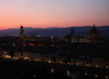 Sunset from Piazzale Michelangelo, Florence