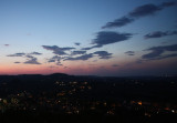 Sunset from San Gimignano