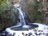 Waterfall in Honister Pass