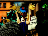 the puppets protest