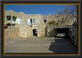 Yanuch - the Druze village / a typical old house