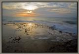 Sunset at Achziv