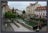 Ljubliana, the capital city of Slovenia