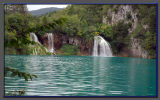 Croatia, the Plitvice falls