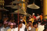014 - Ceremony, Swedagon pagoda