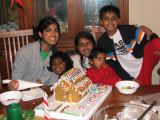 Builders of the Gingerbread house