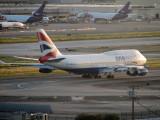 BA 747 ready to roll