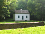 Lockhouse for lock 43 and surroundings