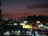 After sunset on Century Blvd