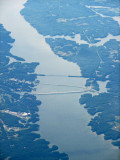 Kerr Lake on the Roanoke river