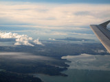 Passing by Auckland as we depart NZ