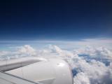 Beautiful skies on the way to Bangkok