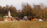 A few buildings