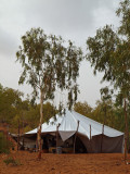 The main tent where we ate our food