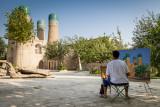 Painting Chor Minor – Uzbekistan