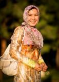 Smiling woman - Uzbekistan
