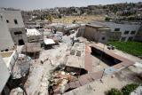 Destroyed Palestinian market - Hebron