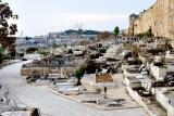 Cemetery beside Old City- Jerusalem