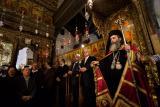 Greek Orthodox Patriarch and dignitaries